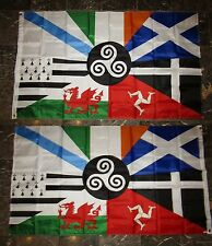3x5 Celtic Nations 2 Faced 2-ply Wind Resistant Flag 3x5ft