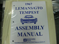 1967 67 GTO, LEMANS, TEMPEST (ALL MODELS) ASSEMBLY MANUAL