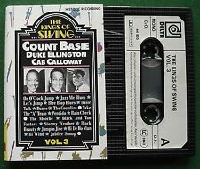 The Kings of Swing Vol 3 Count Basie Cab Calloway + Cassette Tape - TESTED
