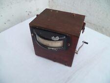1920/30 Ancien Ampèremètre pour téléphone de campagne ?? Militaire ??