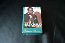 Louis Armstrong Satchmo The King of Jazz 3 Cassette Set