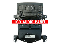 HIGH GLOSS 1CD Audio Panel 1P For 11 12 Chevy Cruze 5d