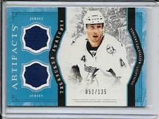 11-12 Artifacts Vincent Lecavalier Treasured Swatches Jersey #d/135