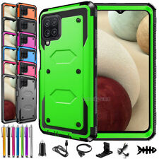 For Samsung Galaxy A12,A12 5G Case,Shockproof Rugged Armor Phone Cover Accessory