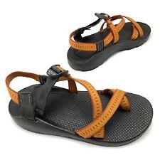 CHACO Z2 Classic Mens Size 11 Orange Adjustable Sandals