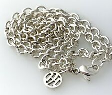 """John Hardy Sterling Silver 5mm Link Chain Necklace 23""""inch"""