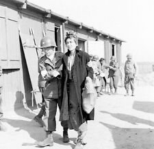WWII Photo US Army Doctor Concentration Camp Penig  WW2 B&W World War Two/ 1368
