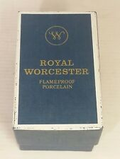 Boxed Royal Worcester Bournmouth Pattern, King size egg coddler