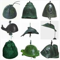 Japanese Iwachu Cast Iron Green Wind Chime Windchimes Different Pattern