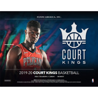 2019-20 PANINI COURT KINGS BASKETBALL FACTORY SEALED HOBBY BOX FREE SHIPPING