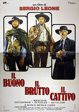Original Movie Posters The Good, the Ugly, the Bad, 140x200 CM -  Clint Eastwood