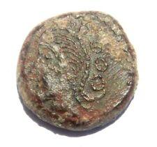 Celtic GALLIA BELGICA - SEQUANI 80-50 BC Bronze Coin