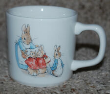 Wedgwood Peter Rabbit Coffee Mug Cup England Frederick Warne & Co. 1993 Vintage