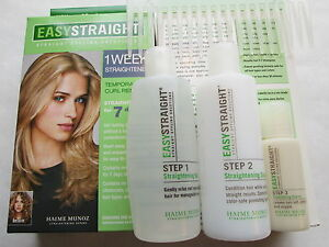 1 KIT (4PCS) EASYSTRAIGHT STRAIGHT HAIR STYLING SOLUTIONS RARE FREE SHIPPING USA