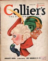 1937 Colliers October 30 - The Making of Mussolini; Sam Levene; Inflation