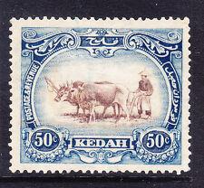 MALAYAN STATE KEDAH SG36bw 40c brown & grey-blue Type I Crown to left f/u cat£27