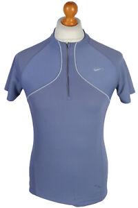 Cycling Shirt Jersey Top T shirt 90s Retro Purple Size M -CW0472