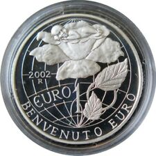 300 - 10 EUROS SAINT MARIN 2002 - Arrivée de l'Euro