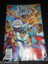 STREET FIGHTER; Malibu Comic #1 - 1992 - Computer Game Tie In - Graphic Novel