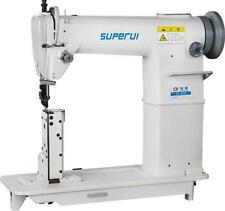 New listing Superui Lt-810 Leather Heavy Duty Industrial Post Bed Sewing Machine New