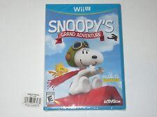 Peanuts Movie: Snoopy's Grand Adventure (Nintendo Wii U, 2015) NEW