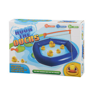 HOOK A DUCK GAME HOOK THE DUCKS FAMILY FUN BATH FISHING INDOOR OUTDOOR GAME