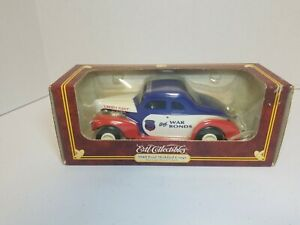"""NEW ERTL COLLECTIBLES 1940 FORD MODIFIED  COUPE """" BUY WAR BONDS""""  1/25"""