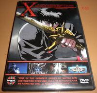X the MOVIE anime DVD rintaro CLAMP animation