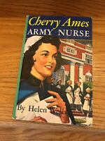 Vintage Cherry Ames Army Nurse Helen Wells Collectible Hardcover USA Printed