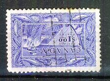 CANADA - 1951 - $1 ULTRAMARINE - FISHERMAN - Used - SG 433