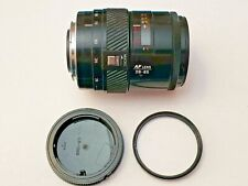 MINOLTA AF 28-85mm 3.5-4.5 MAXXUM ZOOM CAMERA LENS WITH REAR CAP AND FILTER I3.3