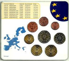 PORTUGAL. SERIE COMPLETA DE EURO. DIFERENTES AÑOS. EN CARTERA