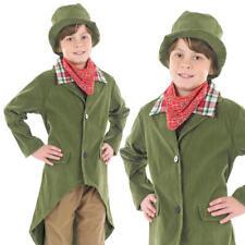 Kids Dickensian Boy Fancy Dress Costume Artful Dodger Victorian Outfit 6-8 Yrs
