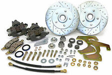1957-64 Ford F100 Truck Front Disc Brake Conversion Wheel Kit - 5 x 5.5""