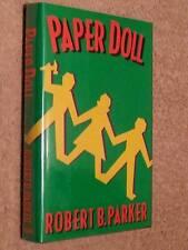 Robert B Parker SIGNED Paper Doll 1st Edn USHC Spenser