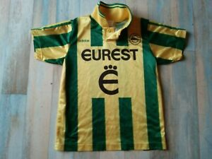 MAILLOT FOOT ADIDAS FC NANTES EUREST VINTAGE TAILLE XS/D2 BE