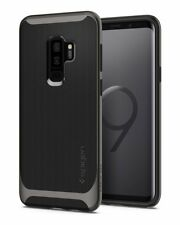 Spigen Samsung Galaxy S9+ PLUS Neo Hybrid Hülle Case Bumper Gunmetal ORIGINAL