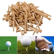 100Pcs колышки для гольфа бамбука тройник замаха клюшкой практика аксессуар для тренировок 42/54/70/83mm