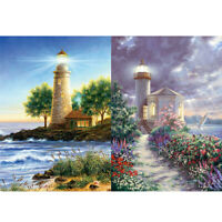 Lighthouse 5D DIY Full Round Drill Diamond Painting Embroidery Art Crafts R1BO