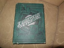 Large 1889 SHAKESPEARE Art Addition Illus - Charles & Mary Lamb and Mary Seymour