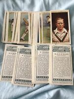 Cricketers 1928 - Wills Cigarette Cards - Special Offer
