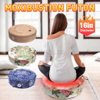 Traditional Moxibustion Futon Cushion Smokeless Moxa Heat Pad Salon Body Relex