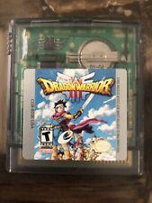 Dragon Warrior III (Nintendo Game Boy Color, 2001)