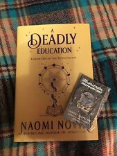 Illumicrate Faecrate Owlcrate Fairyloot A Deadly Education Book & Pin EXCLUSIVE