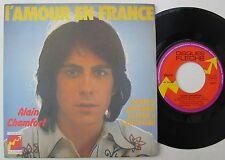 ALAIN CHAMFORT   (45 Tours) L'AMOUR EN FRANCE    FLECHE 6061171