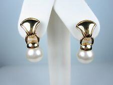 with Pearls 1091 Rachel Gold Plated Earrings