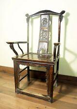 Antique Chinese High Back Arm Chair (5798), Circa 1800-1849