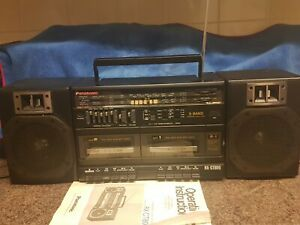 Vintage Collectable Panasonic Rx-ct800 Hifi Stereo Radio Cassette Player 1980s
