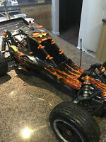 HPI BAJA - 5B, SS - COMPLETE SETS OF TINTED WINDOWS,TOP QUALITY ACRYLIC