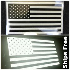 American Flag Sticker Decal Reflective Tactical Subdued Military (Ships In USA)